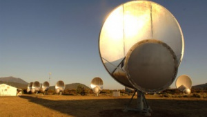 Lauscht wieder nach fremden Signalen: Allen Telescope Array