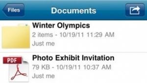 Skydrive für iOS und Windows Phone