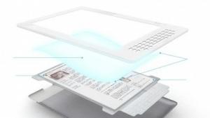 Vordergrundbeleuchtung für E-Paper-Displays: Flex Lighting