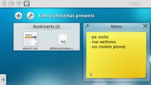 Die KDE-basierte Benutzeroberfläche Plasma Active Two