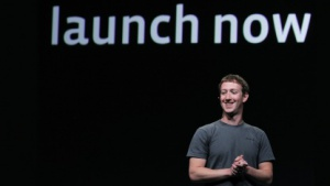 Mark Zuckerberg bei der Vorstellung der neuen Timeline