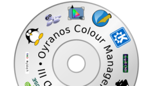Die Live-CD bietet eine vollständige Umsetzung der Farbverwaltung Oyranos.