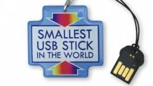 Der Anhänger des USB-Sticks erfüllt lediglich die Funktion des Werbeträgers.