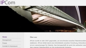 Homepage von IPCom
