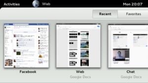 Der Webbrowser Epiphany mit neuer Oberfläche
