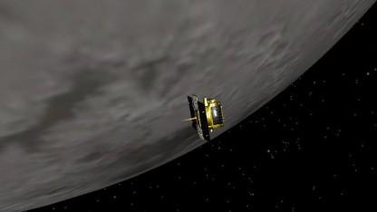 Grail-Sonde vor dem Mond: Erkenntnisse über die innere Struktur des Mondes