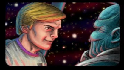 Roger Wilco im Fan-Remake von Space Quest 2