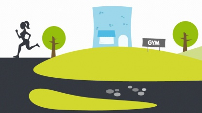 Gympact-App will Sportler mit monetären Anreizen motivieren.