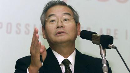 Fujitsu President Naoyuki Akikusa