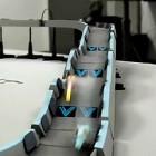 Virales Marketing: Carrera-Bahn mit Wipeout-Gleitern und Quantenmechanik
