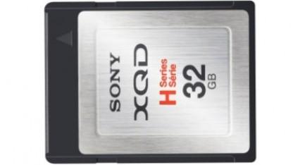 XQD-Speicherkarte mit 32 GByte und 125 MByte/s