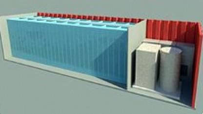 Konzept eines Akkus von Eos Energy Storage