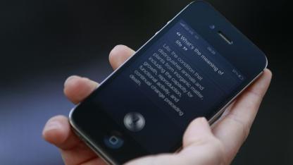 Siri: iPhone-4S-Nutzer verdoppeln das Datenvolumen