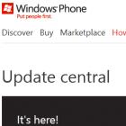 Windows Phone: Microsoft liefert weniger Informationen zu Updates
