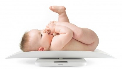 Withings' Onlinebabywaage Smart Baby Scale