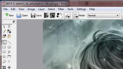 Die Entwickler haben das Büropaket Calligra auf Windows portiert, darunter die Bildbearbeitung Krita.