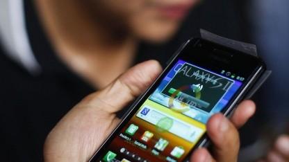 Nutzer mit Samsung Galaxy S2: Zusammenhang von Stimmung und Eingabe erkennen