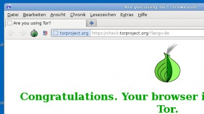 Tails nutzt Tor zum anonymen Surfen im Internet.
