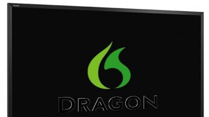 Fernseher mit Sprachsteuerung mit Hilfe von Dragon TV