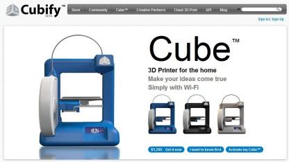 Cube: 3D-Drucker für daheim
