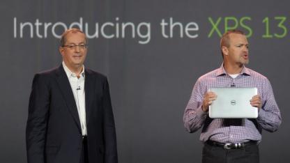 Dell stellt zusammen mit Intel das XPS13 vor.