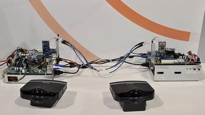 Buffalo-Router mit WLAN-Kabel