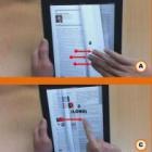Smart E-Book System: Durch ein digitales Buch blättern wie durch ein gedrucktes