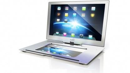 Monitor2Go mit Schacht für das iPad 2