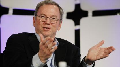 Eric Schmidt auf der CES 2012