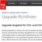 Sonderaktion: Adobe bietet nun doch CS6-Update für ältere CS-Versionen