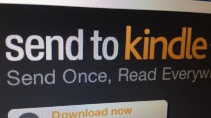Amazon erzeugt E-Books aus Windows heraus.