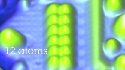 1 Bit in 12 magnetischen Atomen