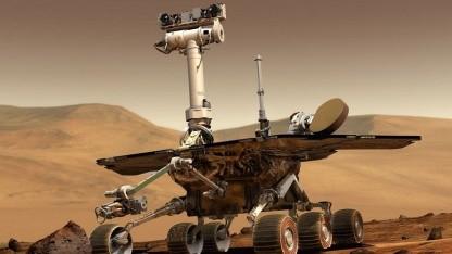 Rover Opportunity: überwintern am Greely Haven