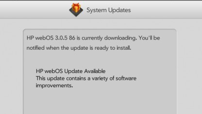 Touchpad erhält WebOS 3.0.5.