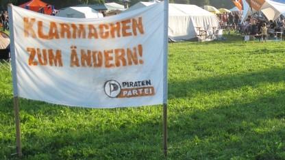 Klarmachen zum Ändern - Slogan der Piratenpartei