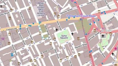 Openstreetmap von London: Ausrichtung von Einbahnstraßen vertauscht