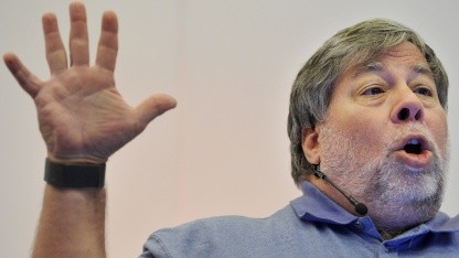Apple-Mitbegründer Steve Wozniak im Oktober 2011