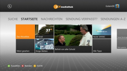 Mehr Streamingdienste für die Xbox 360
