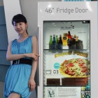 Samsung: Transparentes LCD als Kühlschranktür