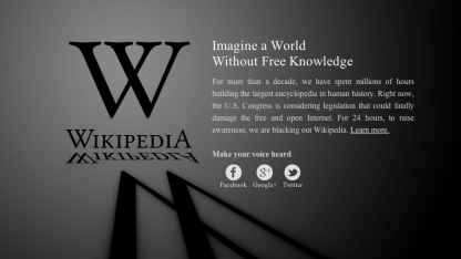 Geschwärzte Wikipedia: Wirkung in Washington