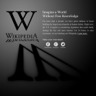 Sopa: Wikipedia, Wordpress & Co. streiken