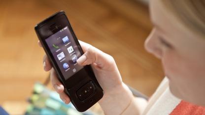 Speedphone 700 mit stark angepasstem Android