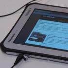 Ausprobiert: Panasonics Android-Tablet Toughpad wirkt unfertig