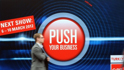 WLAN ist auf der Cebit 2012 kostenlos.