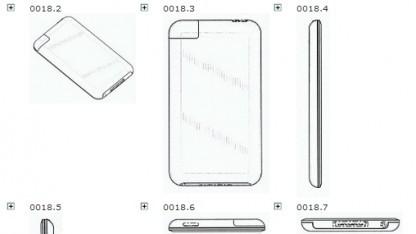 Die Geschmacksmuster von Apple, die Samsung verletzt haben soll
