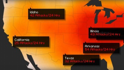 Mehr Angriffe während der Operation Megaupload