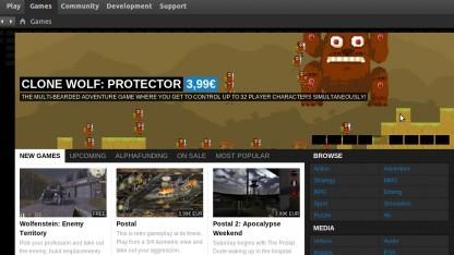 Der Client für das Spiele-Vertriebsportal wurde als Open Source veröffentlicht.