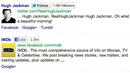 So könnte Googles soziale Suche aussehen