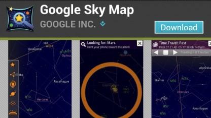 Google hat den Quellcode für seinen Sternenatlas Sky Map freigegeben.