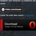 Browser: Opera 11.61 beseitigt zahlreiche Absturzursachen